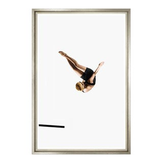 Framed Suspended Diver Photo