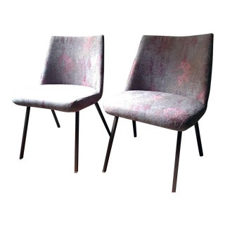 ABC Home Custom Upholstered Chairs - Pair