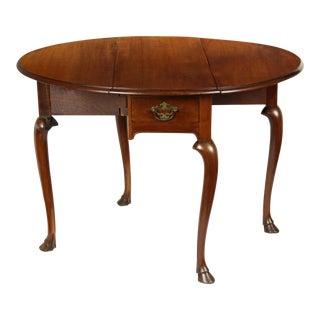 Hoofed Queen Anne Pembroke Table