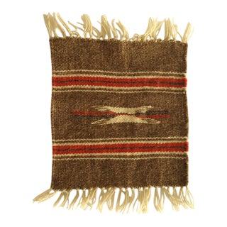 Vintage Tribal Chimayo Weaving