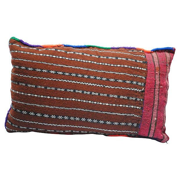 Multicolor Berber Pillow - Image 2 of 4