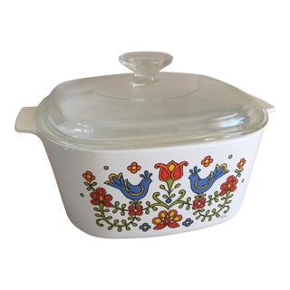 Corning Ware Covered Casserole Dish