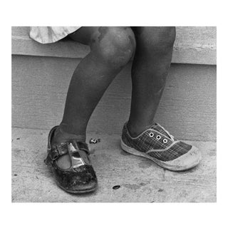 """4_Shoes"" Black & White Photo"