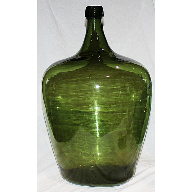 Demijohn Antique Blown Glass Bottle - Image 2 of 5