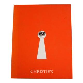 Piero Fornasetti Rare Christie's Auction Catalog
