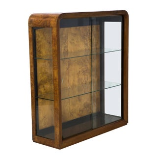 Art Deco Display Cabinet W/ Lighting