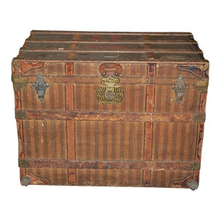 Antique Haskell Bros Trunk