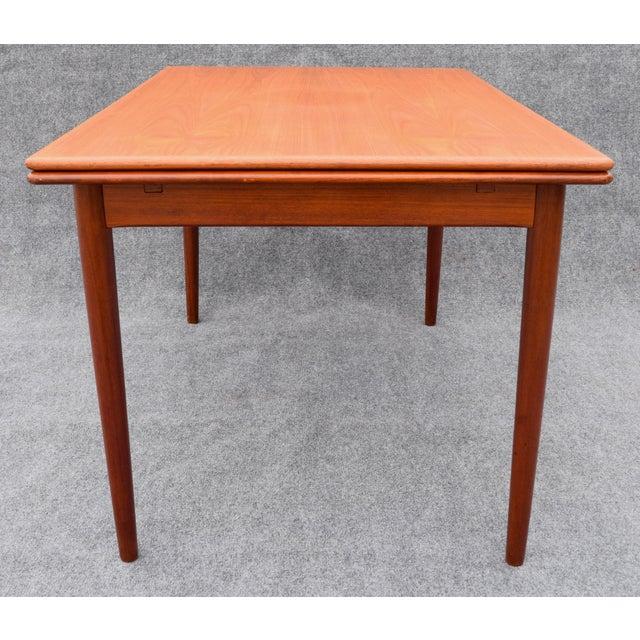 Vintage Danish Mid Century Modern Teak Dining Table Chairish