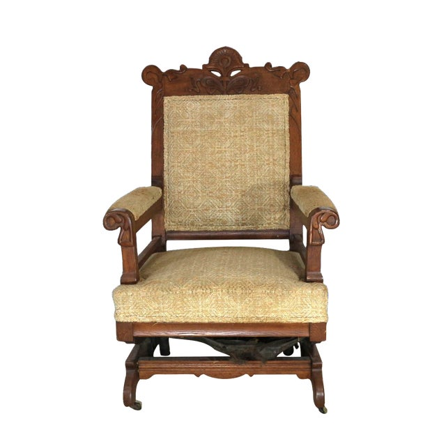 1880s Victorian Rocking Chair - Image 1 of 8