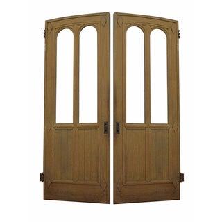 Antique Gothic Doors - Pair