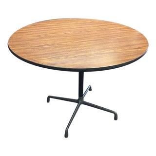 Vintage Eames Round Pedestal Table