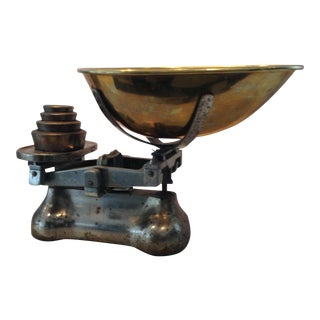 Antique Brass & Metal Scale