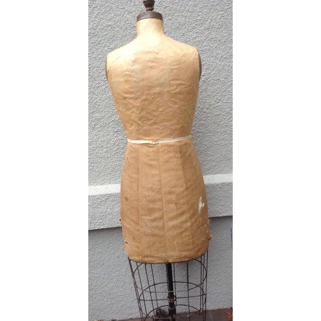 Antique Mannequin Dress Form /Palmenbergs - Image 6 of 7
