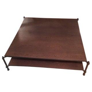 Roche Bobois Wood Coffee Table