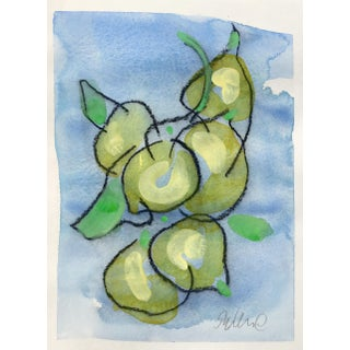 Still Life Watercolor & Charcoal Painting