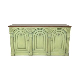 Henredon Light-Green Sideboard Credenza