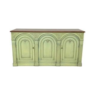 Henredon Light-Green Sideboard Credenza