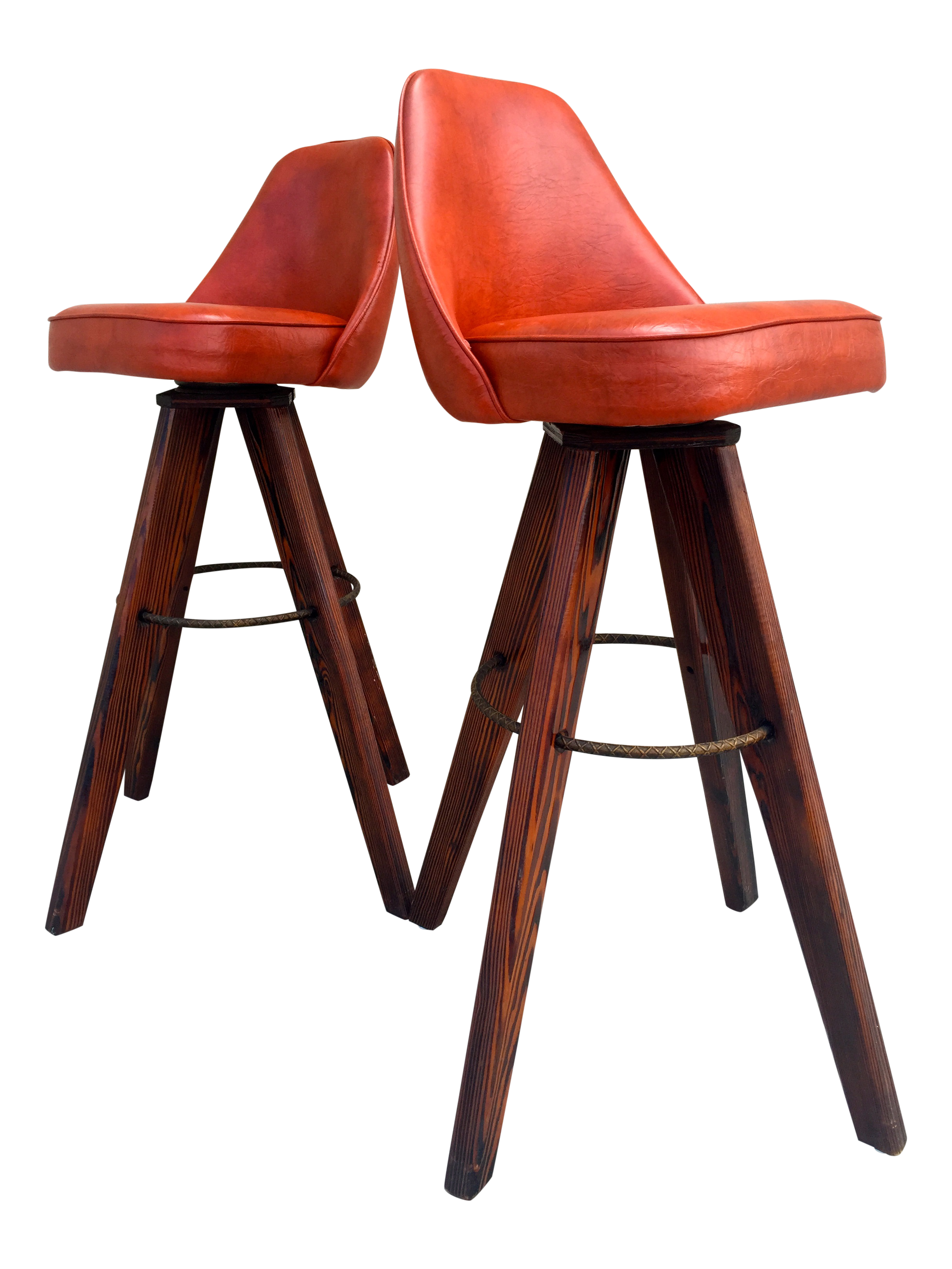 Mid Century Modern Barstools in Orange A Pair Chairish : mid century modern barstools in orange a pair 1826aspectfitampwidth640ampheight640 from www.chairish.com size 640 x 640 jpeg 34kB