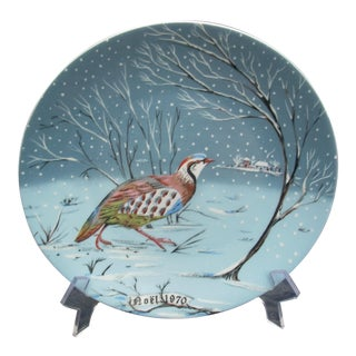 Haviland Limoges Plate