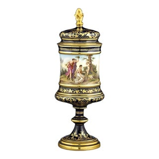 Royal Vienna Porcelain Urn