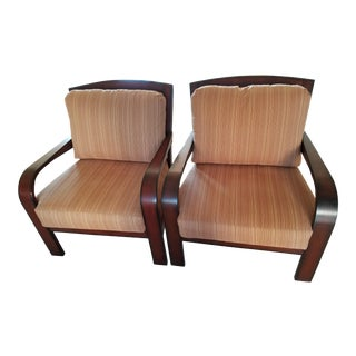 Palecek Captain Chairs - Pair