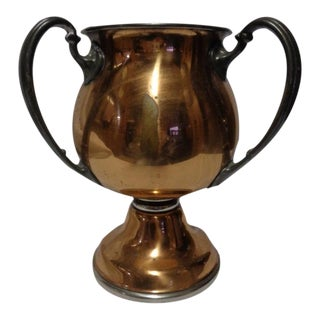 Copper Three-Handled Loving Cup