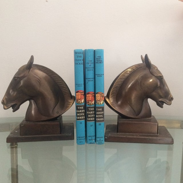 Brazen Horse Bookends - A Pair - Image 2 of 11