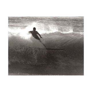 Black & White Vintage Surfer Photo V