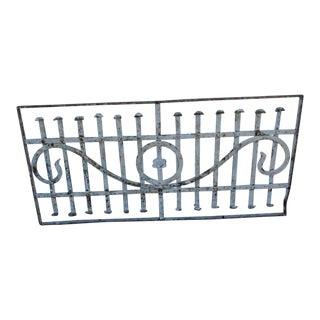 Antique Victorian Iron Gate Window Garden Fence Architectural Salvage Door #066