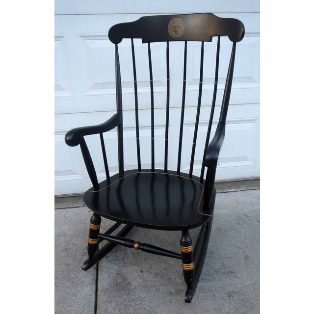 Nichols & Stone Hitchcock Windsor Rocker Chair - Image 4 of 5