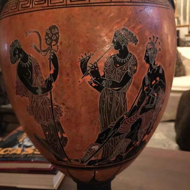 Greek Double Handle Vase - Image 5 of 10