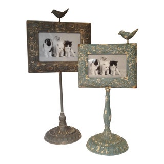 Standing Metal Bird Frames