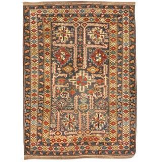 Antique 19th Century Caucasian Kuba Rug
