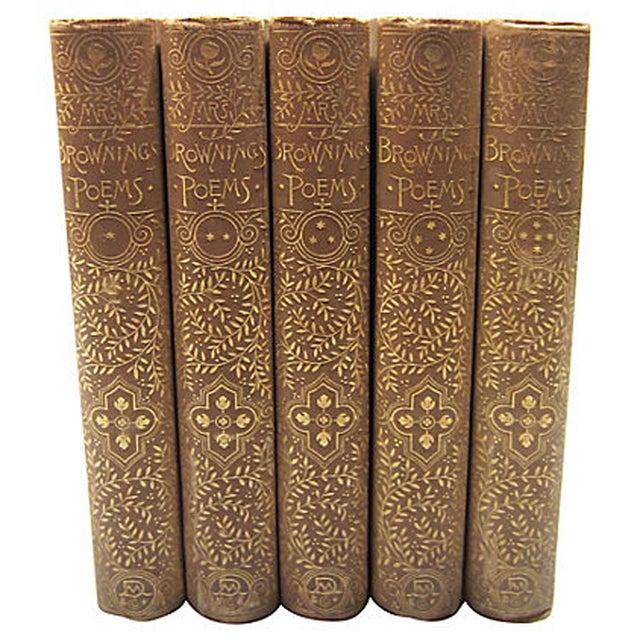 Elizabeth Barrett Browning Poetry - 5 Volumes - Image 7 of 7
