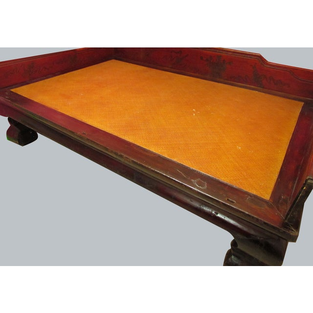 Antique Chinese Opium Daybed - Image 2 of 10