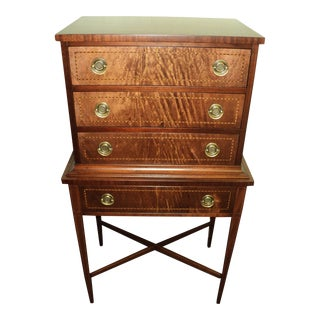 Federal Style Mahogany Inlaid Chest
