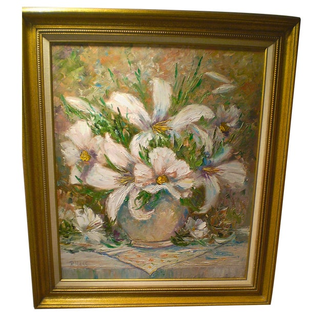 Image of R.Haas Oil On Canvas Painting
