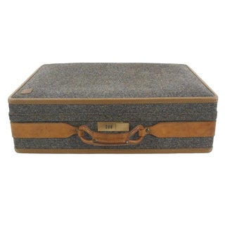 Hartmann Tweed & Leather Suitcase