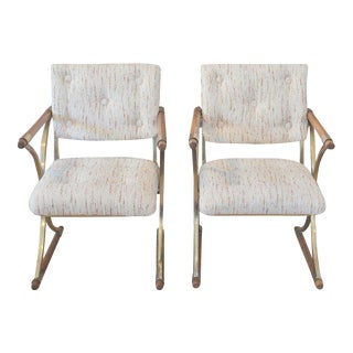 Vintage Cleo Baldon Director's Chairs - a Pair