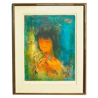 Framed Signed & Titled Hoi Lebadang Lithograph