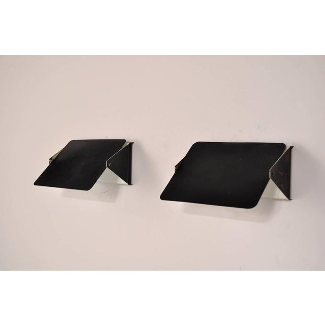 Image of Pair of Charlotte Perriand CP1 Wall Sconces for Steph Simon, France, circa 1960