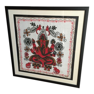 Framed Embroidered Art