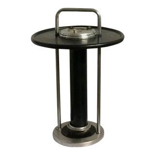Art Deco Floor Ashtray Streamlined Smoking Stand