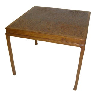 Cork Top Game Table by Edward Wormley for Dunbar