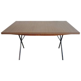 George Nelson for Herman Miller X-Leg Dining Table