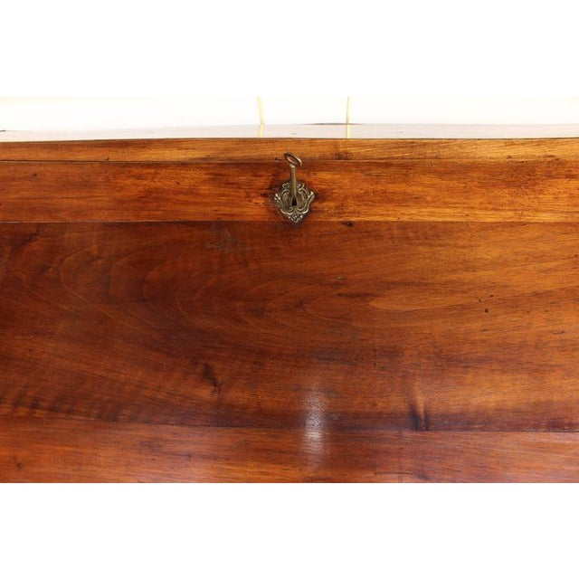 Louis XV Period Fruitwood Drop Front Desk - Image 6 of 8