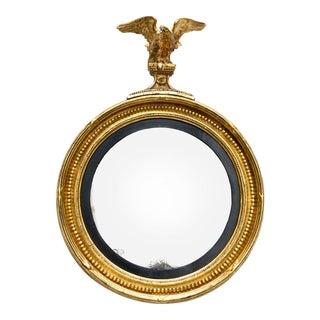 Regency Convex Mirror, Circa 1810