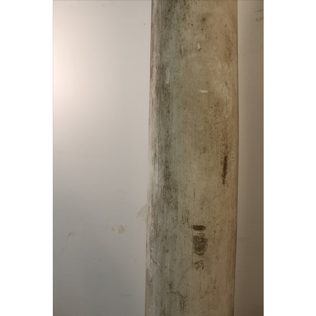 1930s Salvaged Architectural Columns - A Pair - Image 5 of 11
