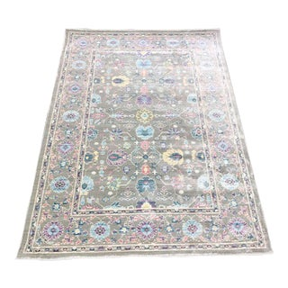 Vintage Distressed Turkish Heritage Rug - 8' x 10'