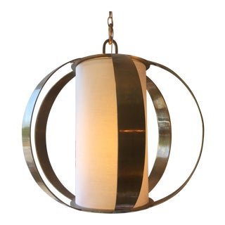 Modern Brass Light Fixture
